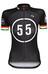 Bioracer Eschborn-Frankfurt 55 Pro Race Kortärmad cykeltröja Dam svart